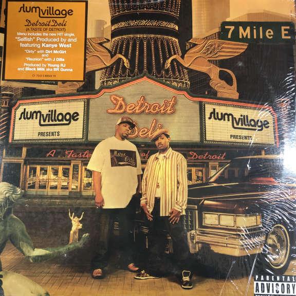 Slum Village Detroit Deli (A Taste Of Detroit)  LP 0