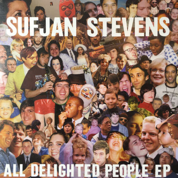 Sufjan Stevens All Delighted People EP LP 0