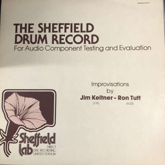 Jim Keltner / Ron Tutt The Sheffield Drum Record LP 0