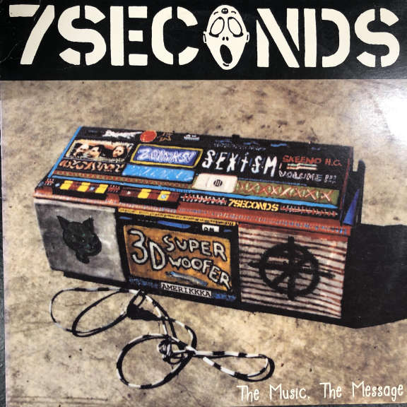 7 Seconds The Music, The Message LP 0