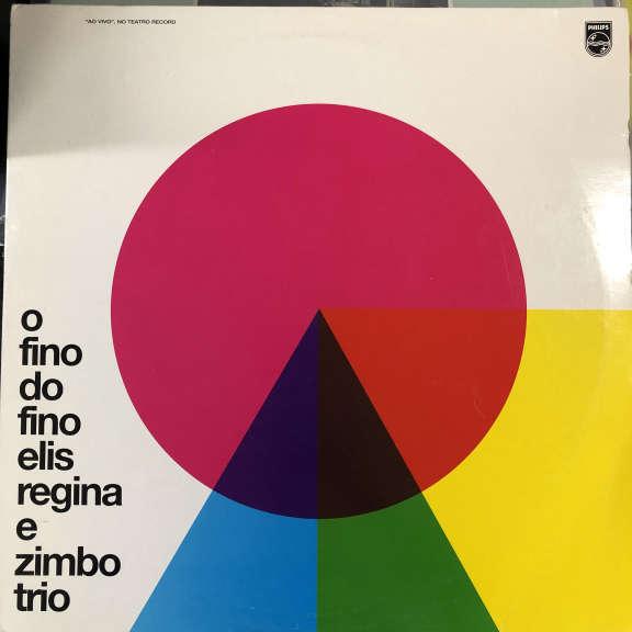Elis Regina E Zimbo Trio O Fino Do Fino LP 0