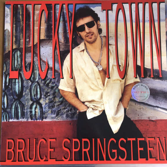 Bruce Springsteen Lucky Town LP 0