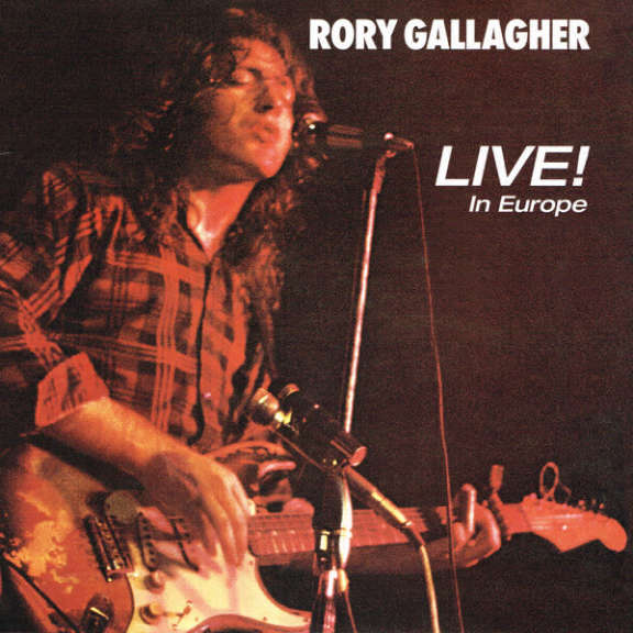 Rory Gallagher Live! In Europe LP 0
