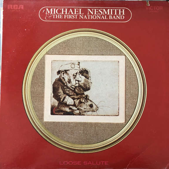 Michael Nesmith & The First National Band Loose Salute LP 0