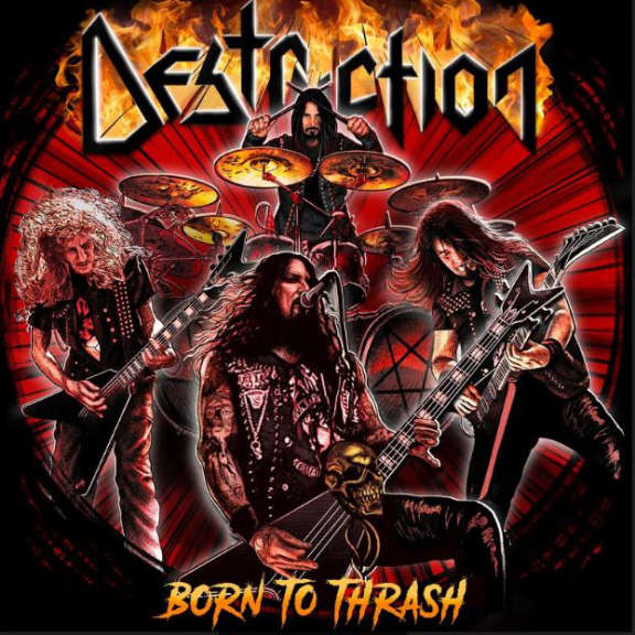 Destruction Born to Thrash (Live in Germany) LP 2020