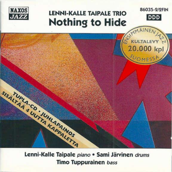 Lenni-Kalle Taipale Trio Nothing To Hide Oheistarvikkeet 0