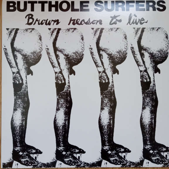 Butthole Surfers Brown Reason To Live LP 0