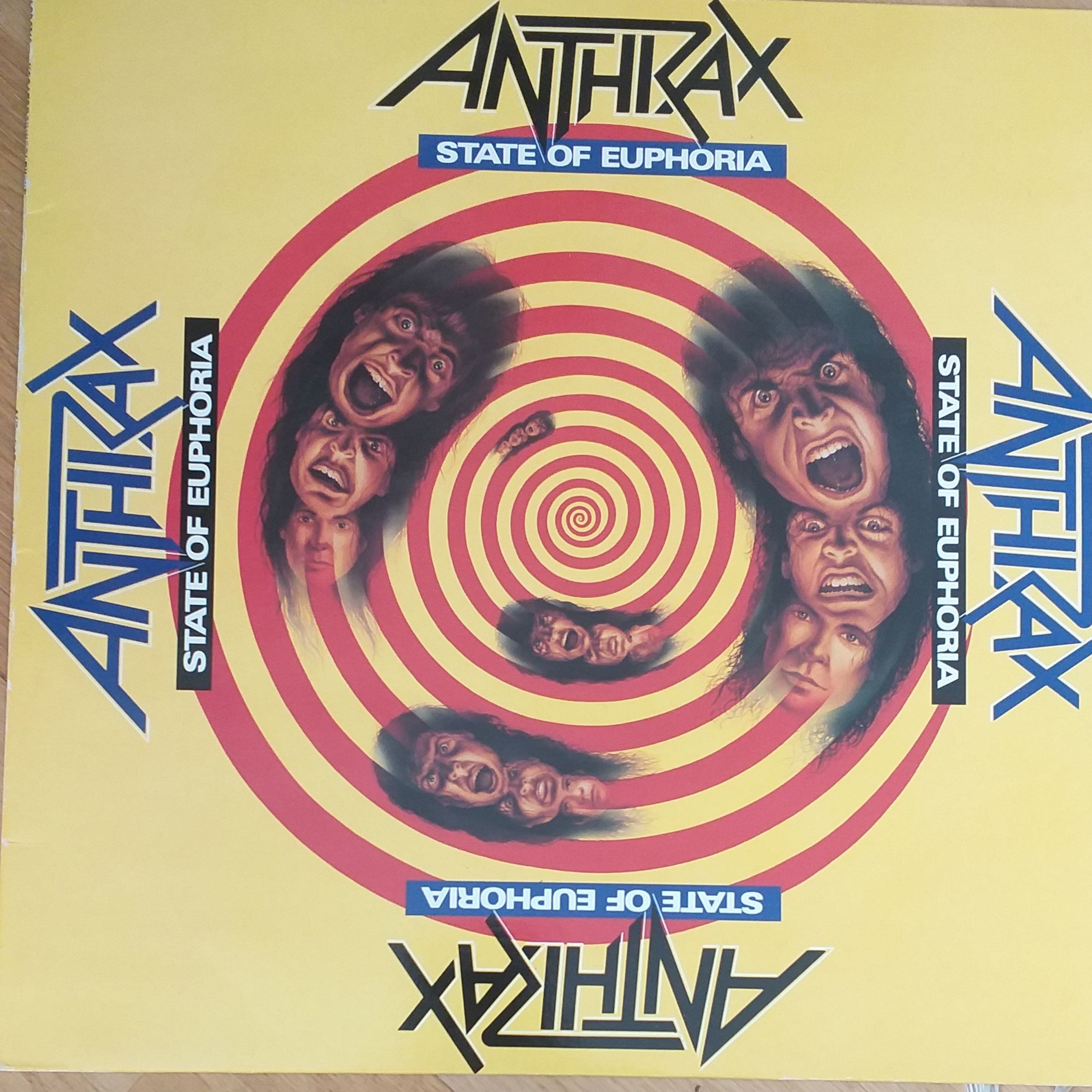 Anthrax State of euphoria LP undefined
