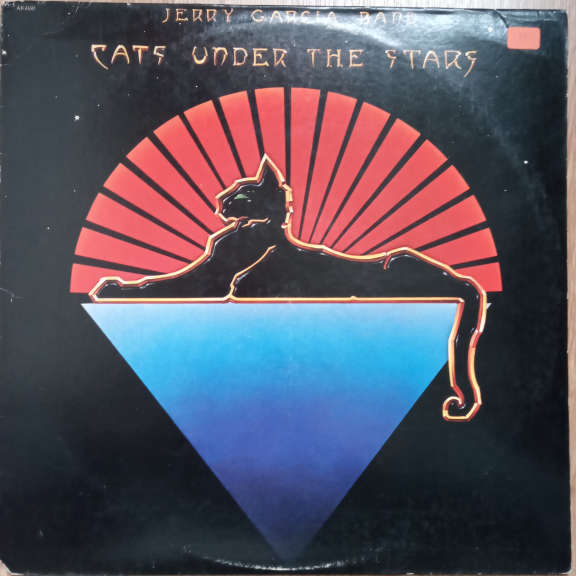 Jerry Garcia Band Cats Under The Stars LP 0