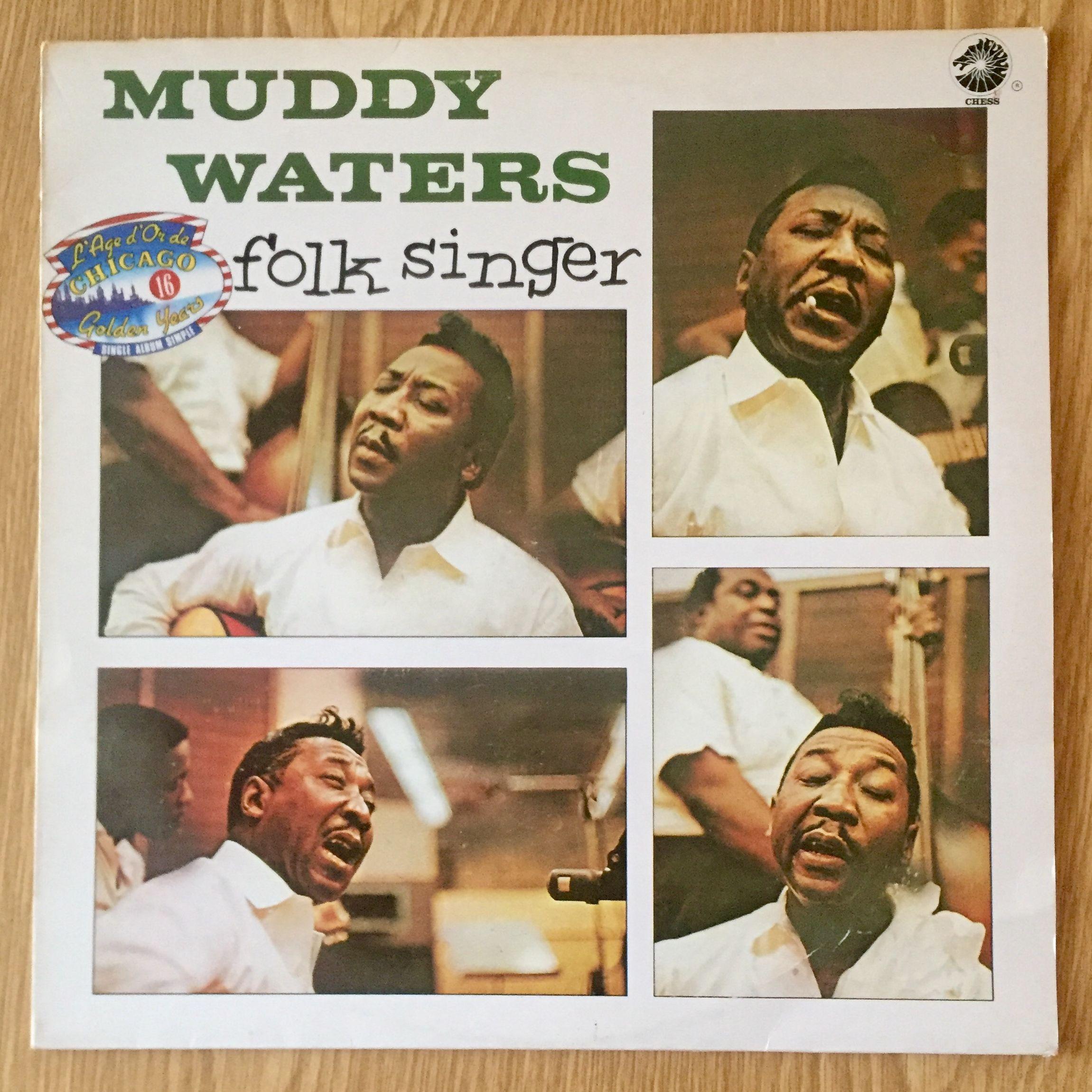 Muddy Waters Folk Singer LP undefined