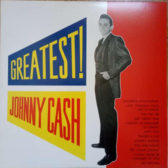 Johnny Cash Greatest! LP 0