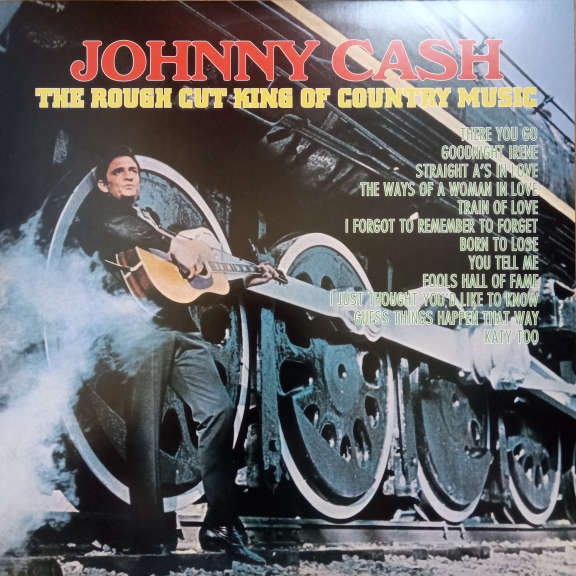 Johnny Cash The Rough Cut King Of Country Music LP 0