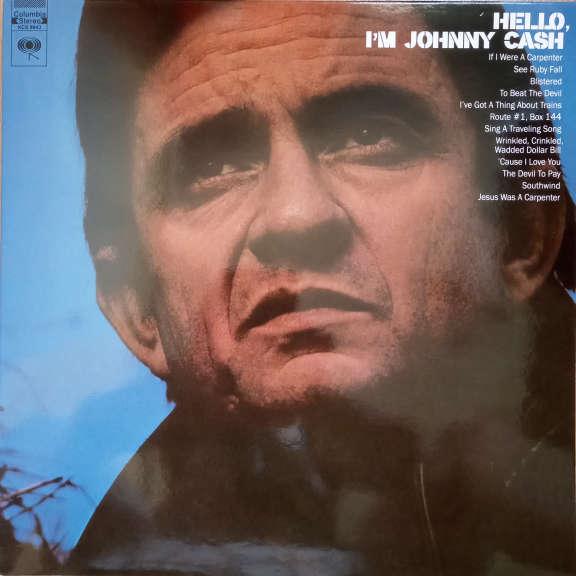 Johnny Cash Hello, I'm Johnny Cash LP 0