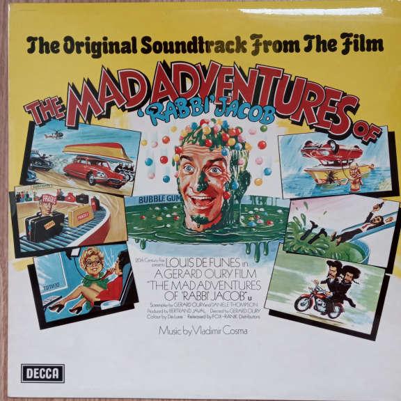 Vladimir Cosma The Mad Adventures Of 'Rabbi' Jacob LP 0