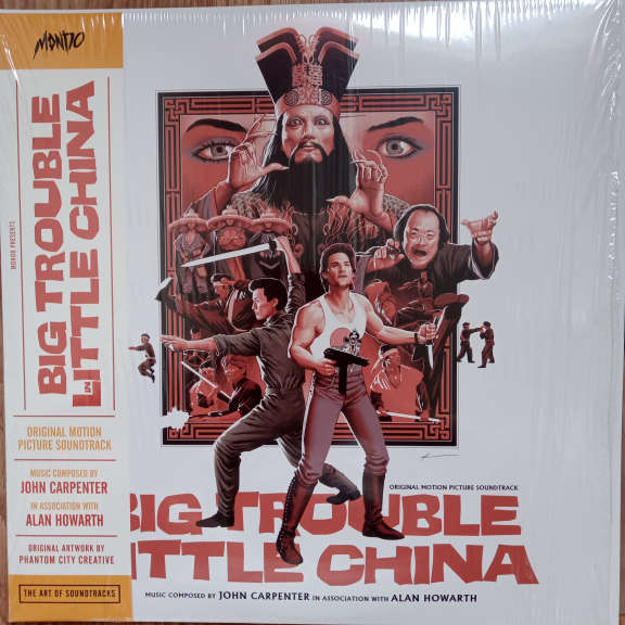 John Carpenter In Association With Alan Howarth Big Trouble In Little China (Original Motion Picture Soundtrack) LP 0