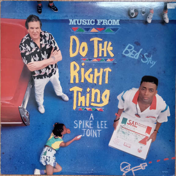 Various (Music From) Do The Right Thing LP 0
