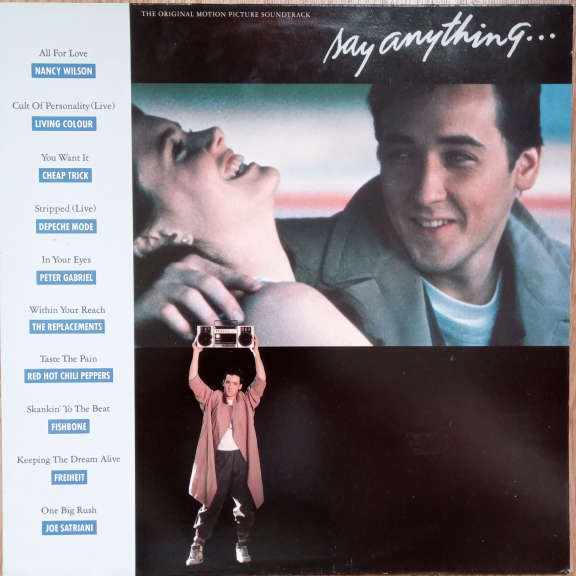 Various  Say Anything… - The Original Motion Picture Soundtrack LP 0