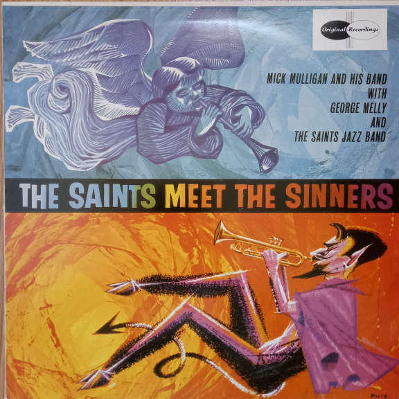 George Melly, The Saints Jazz Band, Mick Mulligan & His Band The Saints Meet The Sinners LP 0