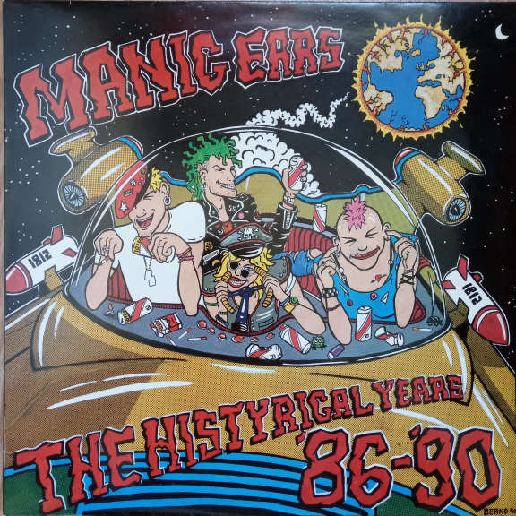 Various Manic Ears - The Histyrical Years '86-'90 LP 0