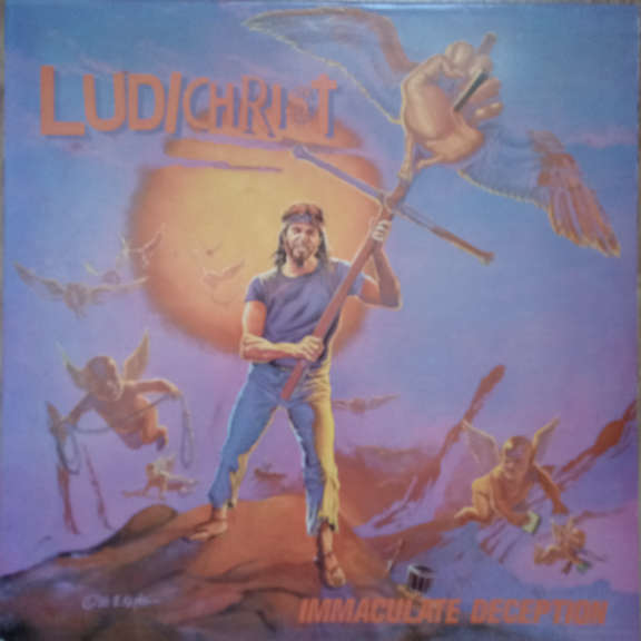 Ludichrist Immaculate Deception  LP 0