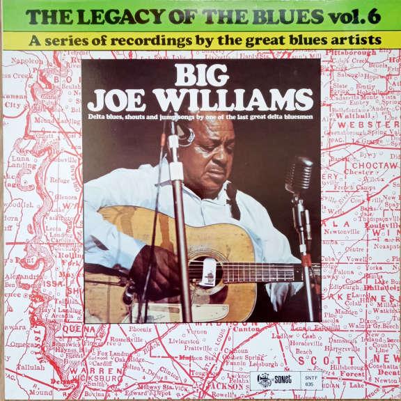 Big Joe Williams The Legacy Of The Blues Vol. 6 LP 0