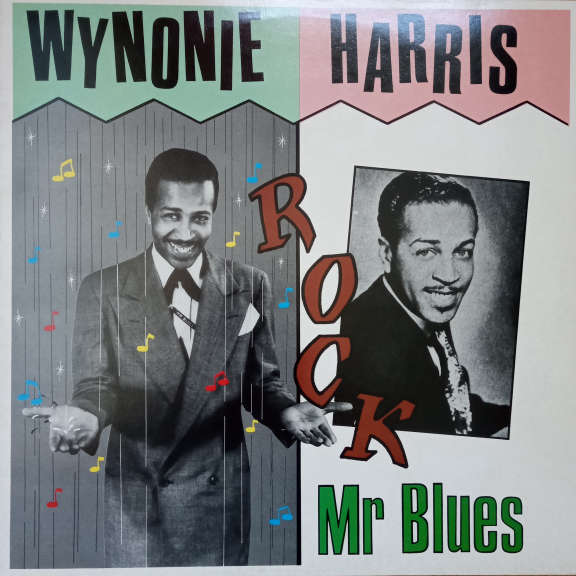 Wynonie Harris Rock Mr. Blues LP 0
