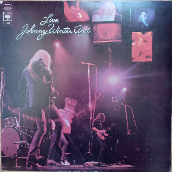 Johnny Winter And Live LP 0