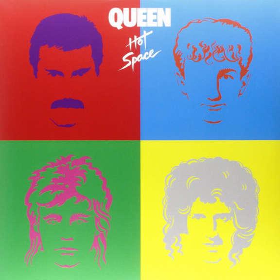 Queen Hot Space LP 2015