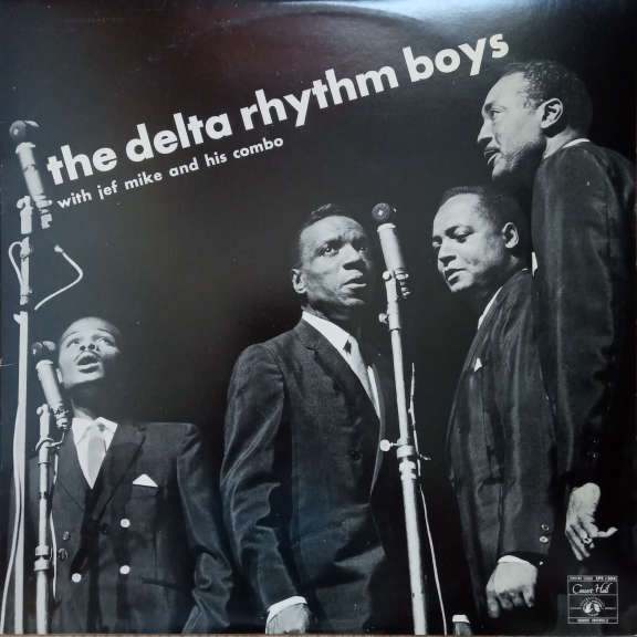 The Delta Rhythm Boys , With Jef Mike And His Combo The Delta Rhythm Boys LP 0