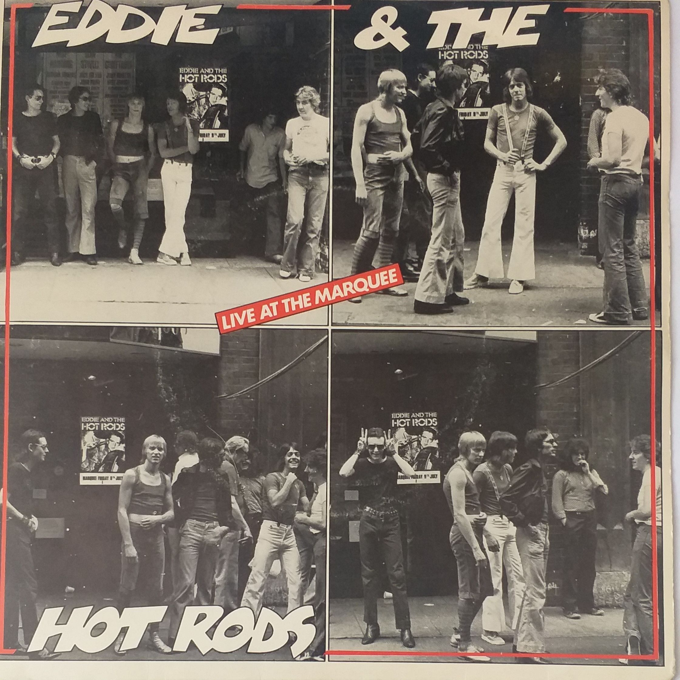 Eddie & hot rods Live at the marquee LP undefined