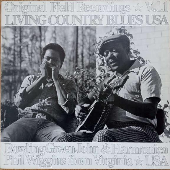Bowling Green John & Harmonica Phil Wiggins From Virginia ☆ USA LP 0
