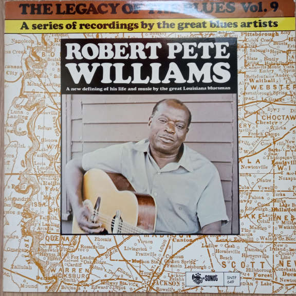 Robert Pete Williams The Legacy Of The Blues Vol. 9 LP 0