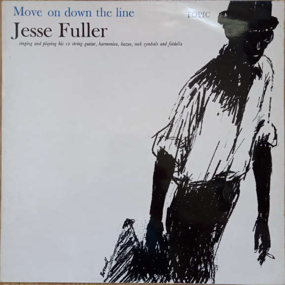 Jesse Fuller Move On Down The Line LP 0
