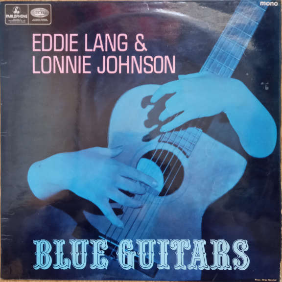 Eddie Lang And Lonnie Johnson Blue Guitars LP 0