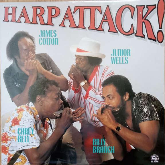 James Cotton, Junior Wells, Carey Bell, Billy Branch Harp Attack! LP 0