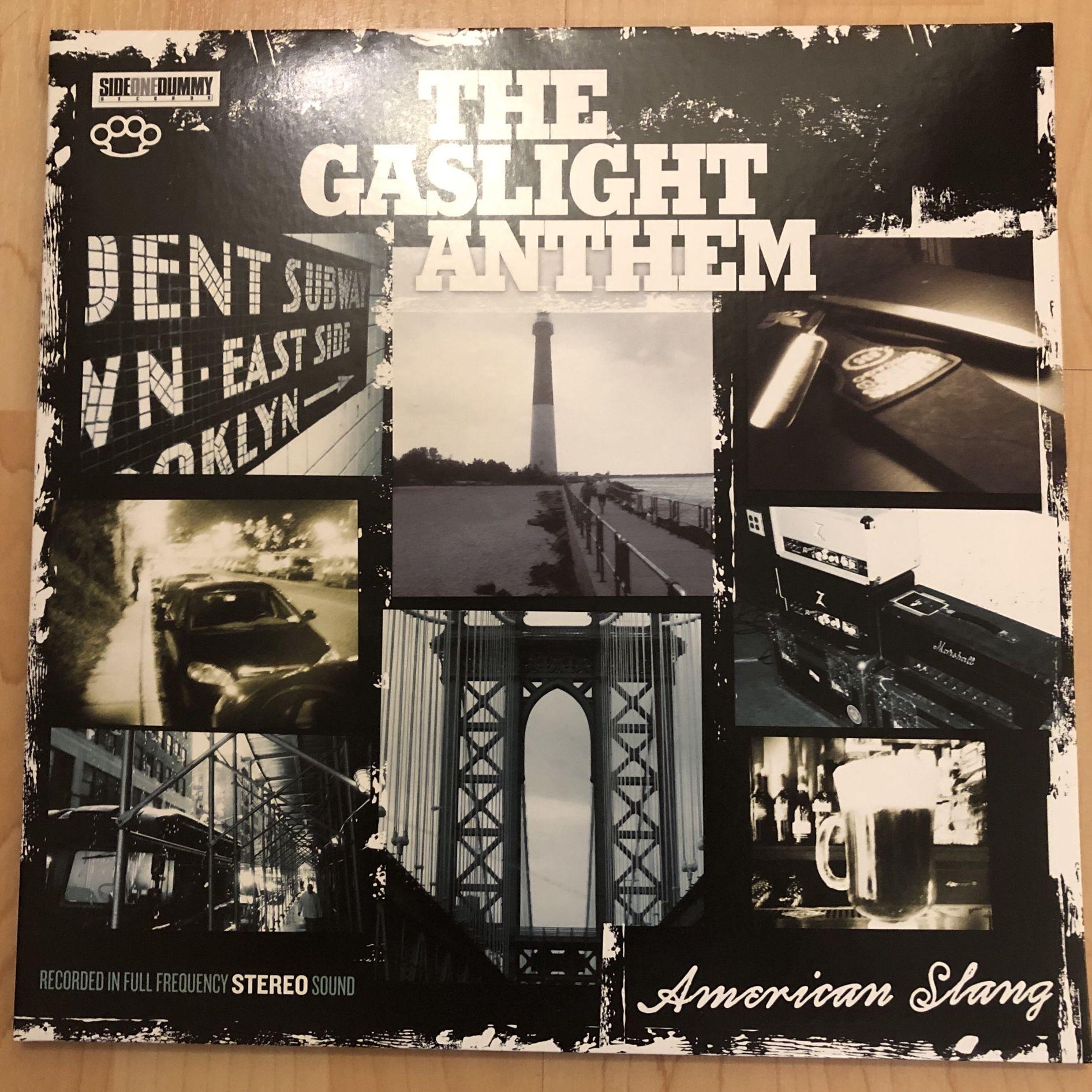 The Gaslight Anthem American Slang LP undefined
