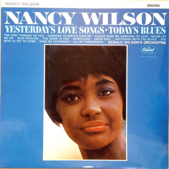 Nancy Wilson Yesterday's Love Songs • Today's Blues LP 0
