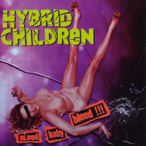 Hybrid Children Bleed Baby Bleed LP 2020