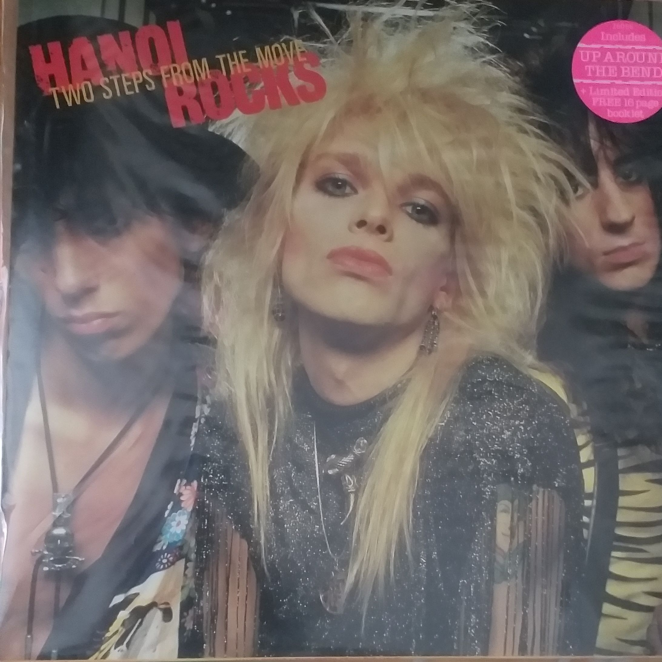 Hanoi rocks Two steps from the move LP undefined