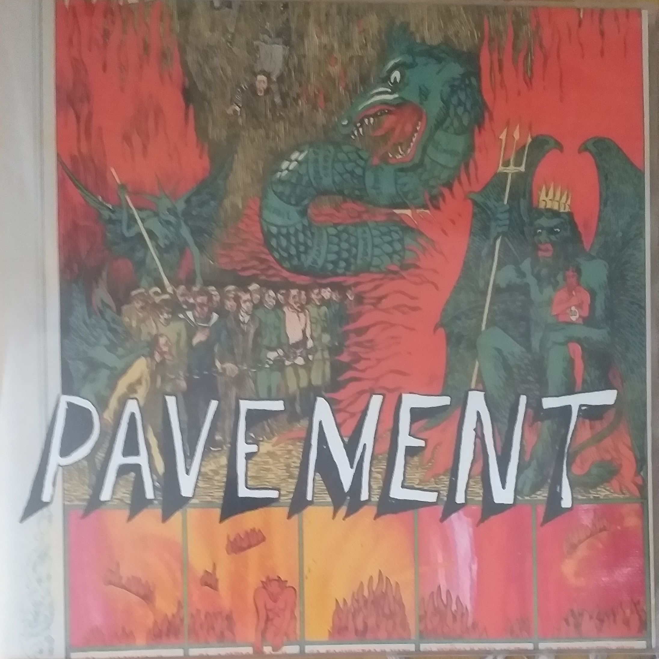 Pavement Quarantine the past LP undefined