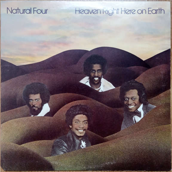 Natural Four Heaven Right Here On Earth      LP 0