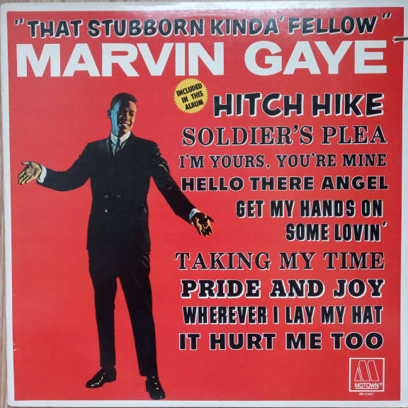 Marvin Gaye That Stubborn Kinda Fellow LP 0
