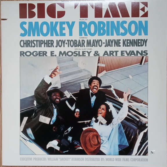 Smokey Robinson Big Time (Original Music Score From The Motion Picture) LP 0