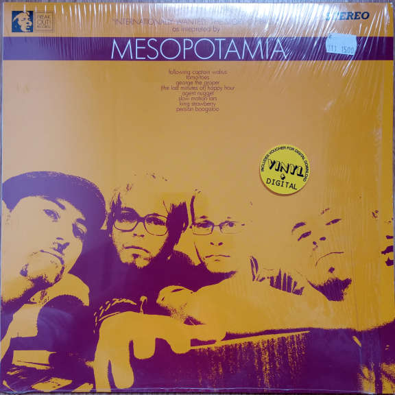 Mesopotamia Internationally Wanted: The Story Of Paco LP 0