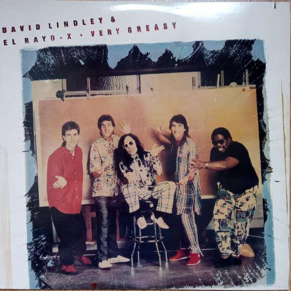 David Lindley And El Rayo-X Very Greasy LP 0