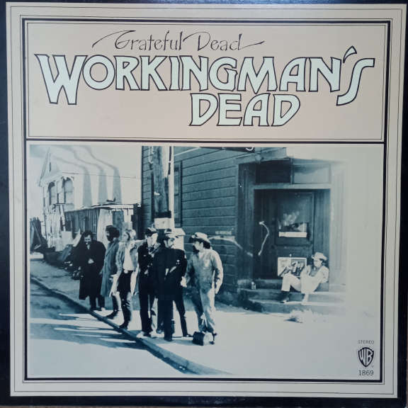 The Grateful Dead Workingman's Dead LP 0