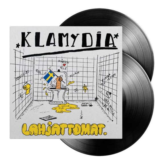 Klamydia Lahjattomat (musta 2lp) LP 2020
