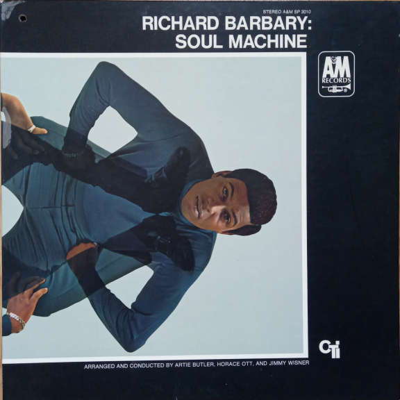 Richard Barbary Soul Machine LP 0