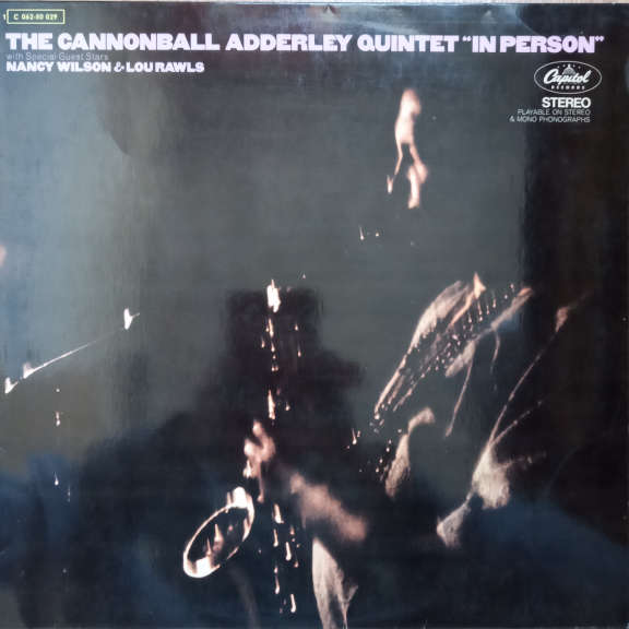 The Cannonball Adderley Quintet In Person LP 0