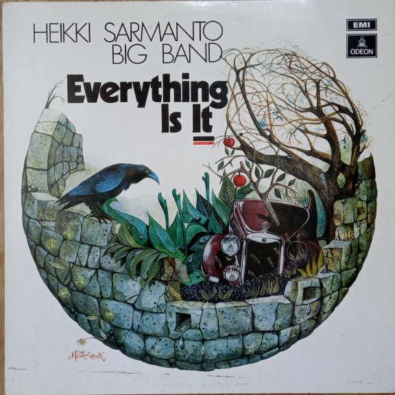 Heikki Sarmanto Big Band Featuring Taru Valjakka Everything Is It  LP 0